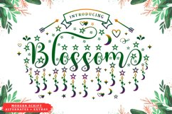 Blossom - Modern Script and Extras Product Image 1