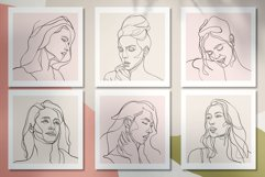 Line Art Woman Portraits Product Image 7