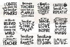 Teacher svg Bundle quotes Product Image 1