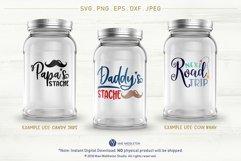 Mason Jar Designs, Decals, printable labels svg files Bundle Product Image 6