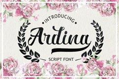 Ardina Script Product Image 1