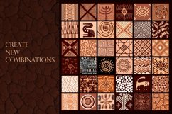 """Ethnic African Patterns and tiles """"Ancestral land"""" Product Image 5"""