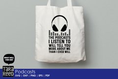 Podcasts - SVG and Cut Files for Crafters Product Image 3
