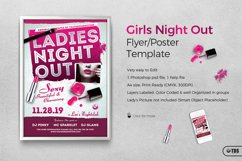 Girls Night Out Flyer Template Product Image 1