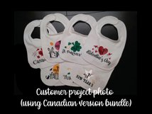 Baby milestone svg bundle, Baby's first USA holidays, my 1st Product Image 8