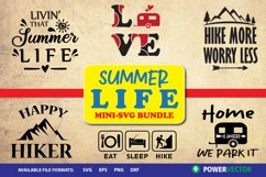 Summer Life - Camping, Hiking SVG Designs Product Image 1