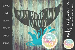 Make Your Own Waves SVG Cut File Product Image 1