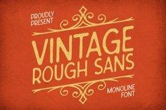 Web Font Vintage Rough Sans Font Product Image 1
