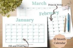 Editable Garden Planner, Printable Garden Planner Product Image 3
