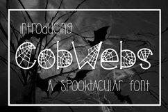 Cobwebs a Spooktacular Font Product Image 1
