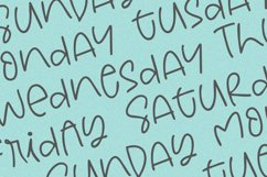 Weeknight - A Fun Handwritten Font Product Image 5