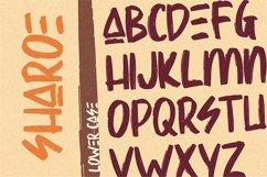 Sharoe - Brush Font Product Image 4