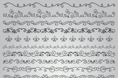 Hand Sketched Vintage Decorative Doodle Design Elements. Product Image 4