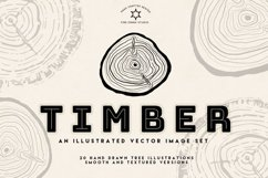 Timber Vector Tree Rings Illustrations Product Image 1
