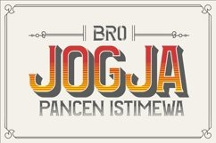Web Font The BIGMAN Font Collection Product Image 4