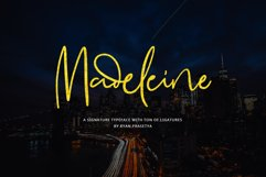 Madeleine Signature Font Product Image 1