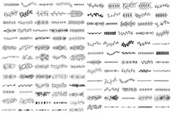 Fun & Cute Hand Drawn Vector Pack +Patterns Product Image 6