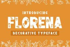 Florena Decorative font Product Image 1