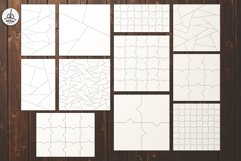 Puzzle Jigsaw SVG Templates Bundle - Classic, Heart, Unusual Product Image 3