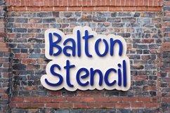 Balton Stencil Product Image 1
