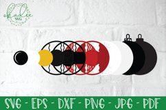 3D Santa Cam Ornament SVG, Christmas Camera Bundle, Elf DXF Product Image 4
