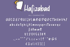 Hafizabad | Cute Display Font Product Image 5