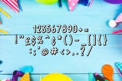 Web Font Happy Birthday Font Product Image 6