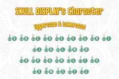 Halloween Skull Display font Product Image 2