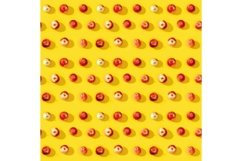Small red apples seamless pattern Product Image 1