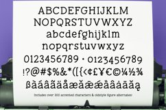 Tippy Tappy Type - a hand-made typewriter-ish font! Product Image 2