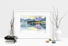 15 watercolor mountain landscapes Product Image 3
