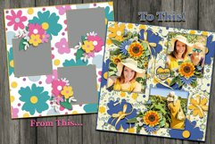 Flower Fever Digital Templates and Cuttables Product Image 3