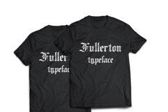 Fullerton Typeface Font Product Image 4