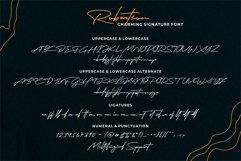 Robertson  Charming Signature Font Product Image 6