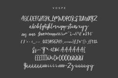 Vospe Font Product Image 2