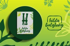 Hello wild | A New Flowers Font Product Image 4