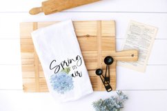 SPRING Sublimation Hydrangea Watercolor Product Image 2