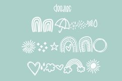 Rainy April a Hand Lettered Font with Doodles Product Image 2
