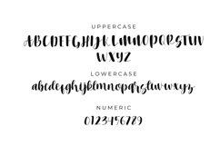 Heritage font script Product Image 4