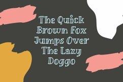 Web Font Guffy - Playful Inline Font Product Image 4