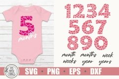 Baby Milestones svg bundle   Numbers SVG   Heart SVG Product Image 1