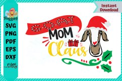 G.O.A.T Mom Claus Product Image 1