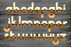 Golden palace - metallic font Product Image 5