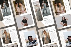 Fashion Instagram Templates Vector Product Image 4