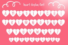 Simple Love Font Product Image 3