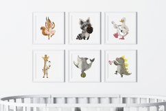 funny animals clipart set Product Image 2