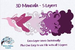 3D Mandala Bundle | 3D Layered Mandala SVG Bundle Product Image 2