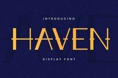 Web Font Haven Font Product Image 1