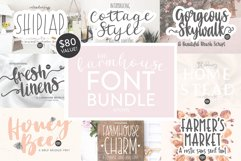 BIG FARMHOUSE FONT BUNDLE - Dixie Type Co. Product Image 1
