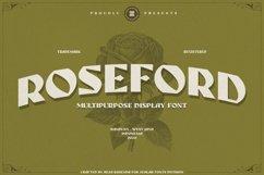 ROSEFORD - MULTIPURPOSE VINTAGE DISPLAY FONT Product Image 1